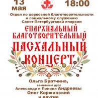 Епархиальный благотворительный Пасхальный концерт